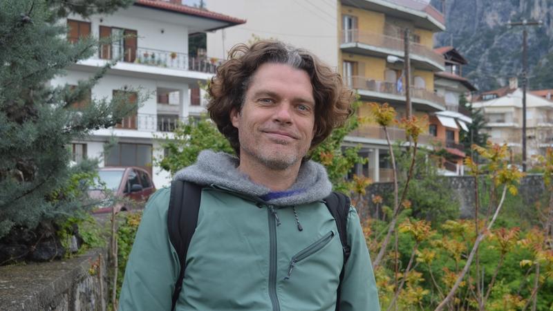 Foto van Marc Riemens in Griekenland.